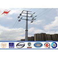 China Proyecto de acero comercial postes para uso general eléctricos de la transmisión de poste para uso general on sale