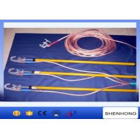 Electrician High Voltage Portable Earthing Equipment 220KV With Ground Clamp