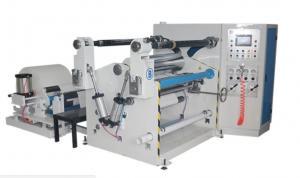 China Drinking paper straw slitting machine narrow slip paper roll center drum surface rewinding winding machinery on sale