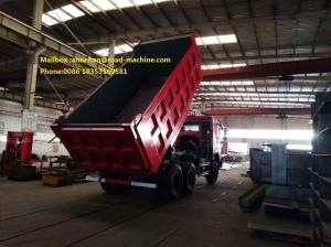China Q345 Material Heavy Duty Dump Truck 10 Wheels 371HP LHD 10 - 25 CBM 30 - 40 Tons For Mining Industry on sale
