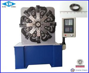 China Computerized Cam Rotation CNC Spring Making Machine 3 - 4 Axis For Wave Spring on sale