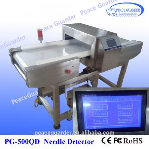 China Conveyor Food Needle Metal Detector with Color touch LCD screen on sale