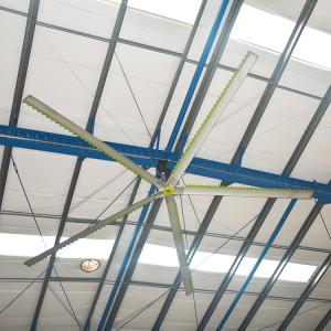 China Green Power Aerodynamic Large Industrial Ceiling Fans Big Airflow on sale