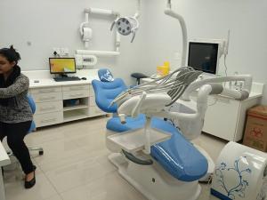 China Novo tipo do dispositivo médico A6600 com assoalho-estar a unidade dental da caixa lateral on sale