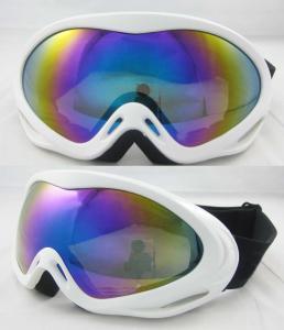 China PC Lens scratch resistance anti-fog Custom Ski Goggles, LATEST NEW snowboarding glasses on sale