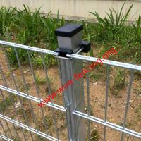 China hot dipped galvanized double wire fencing manufacturer on sale