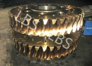 China Brass/ Alloy Steels Aluminum Double Helical Gear For Transmission on sale