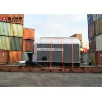 4Ton Bagasse Wood Pellet Boiler Q345R Steel Material With Water Equipment