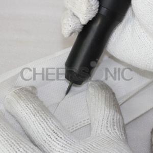 China HUC800 Multi - Función ultrasónica Tela máquina de corte para la industria del calzado / Cap on sale