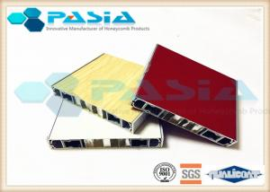 China Flame Retardant Lightweight Panel Board Aluminum Honeycomb Building Material on sale