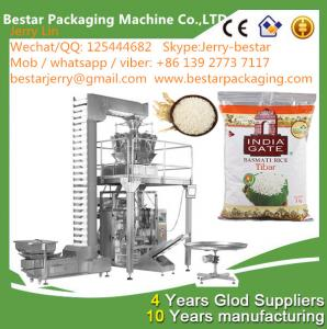 China Full Automatic High-precision Food Weight Measuring Plastic Bag Packaging Machine BSTV-720AZ on sale