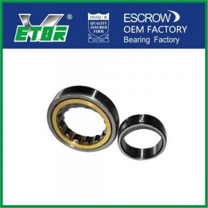 China Long Life Split Cylindrical Roller Bearing Single Row NU217 High Rolling Accuracy on sale