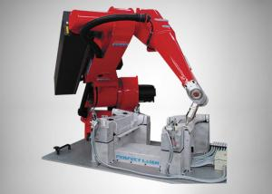 China Fiber Laser Robotic Arm Cutting Machine PE-ROBOT-200, 6-axis motion capability on sale