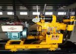 Electric Water Well Drilling Machine , Hydraulic Crawler Drilling Machine