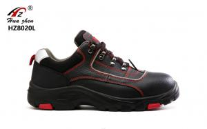 China India Leather Composite Safety Footwear , Industrial Non Slip Safety Shoes on sale