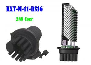 China MPP Fiber Optic Splice Closure 288 Core 5 In 6 Out Cable Ports Inlet Outlet on sale