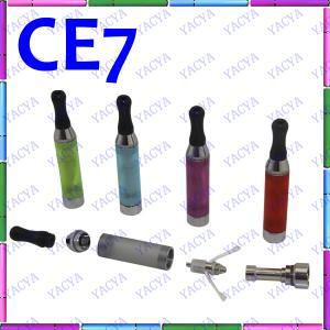 China 510 Thread Colorful CE7 E Cig Vaporizer 3ml , Ceramic Filter Vaporizer on sale