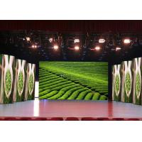 Indoor Stage Rental LED Display HD LED Screen Front / Rear Servicing With Fast Lock