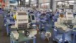 sola máquina principal del bordado del ordenador de 450 x de 330m m, consumo de la energía más baja 150W