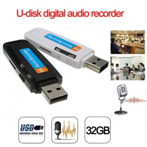 China U-Disk?Digital?Audio?Voice?Recorder?Pen?USB?Flash?Drive?up?to?32GB?Micro?SD?TF on sale
