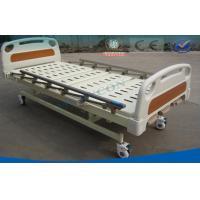 Extra Narrow Manual Hospital Beds , Three Folding Medical Nursing Home Beds