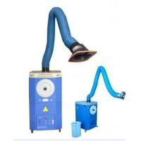 Portable welder fume master with single or double arms for welding workshop