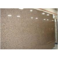China Custom Tropical Brown Granite Floor And Wall Tiles CE Certification  On Sale .