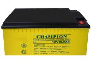China China Champion Deep Cycle Battery  12V250AH NP250-12-G Sealed Lead Acid GEL Battery, Solar Battery on sale