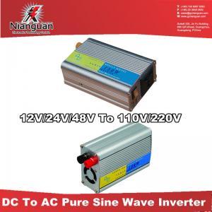 China DC AC power inverters 12V/24V to 110V/220V on sale