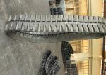 Y400 X 107 X 45k Custom Rubber Tracks Black Color With Strong Resistance
