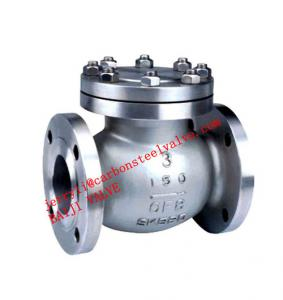 China API/ANSI STIANLESS STEEL CF3/CF3M SWING CHECK VALVE MANUFACTURER on sale