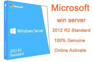 China MICROSOFT WINDOWS SERVER 2012 STANDARD R2 Full Version 2pc 64 bit Genuine Kеys and Download Instаnt Delivеry on sale