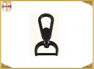 China 1 Inch Gun Sling Zinc Alloy Swivel Snap Hooks Bag Making Accessories Black Color on sale