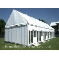 China A Shaped Large Outdoor Tent For Inner Events , White Color Sun Shade Tent on sale