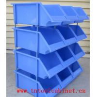 lastic Stackable Storage Bins for warehouse