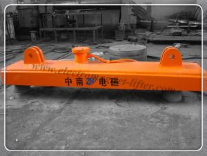 China Electric Lifting Magnet Crane Machinery for Steel Material Holding MW84 on sale