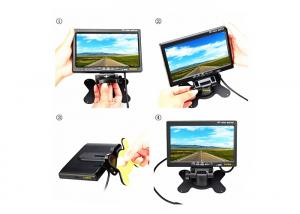China High Resolution 5 Inch Car TFT LCD Monitor Bracket Rear View Car Video Display on sale