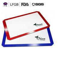 China FDA LFGB silpat custom wholesale fiberglass silicone baking mat / nonstick silicon baking mat on sale