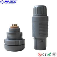 China 2P Series 8 Pin Connector Male And Female , Plastic Medical Device Connectors on sale