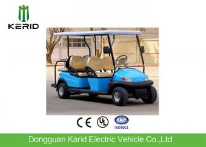 China Electric 6 Seater Club Car Golf Buggy Sky Blue Color With Maintenance Free Battery on sale