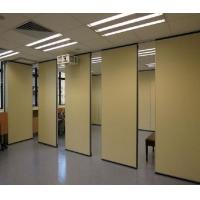 Restaurant Acoustic Partition Wall , Floor To Ceiling Aluminium Operable Wall Systems
