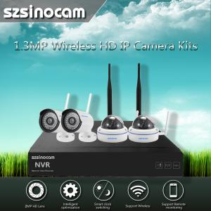 China 2.4GHZ Full Wifi Cctv Kit Home Network Outdoor Easy Installtion on sale