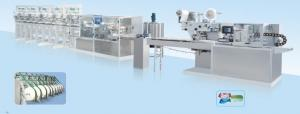 China Light Industry Projects Automatic Baby Wet Wipes / Wet Tissue Production Line on sale