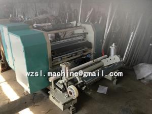 China PE,PVC,POF Film Slitter and Rewinder Machine/Plastic Film Slitting Machine on sale