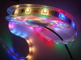China Flexible 30pc / M 5050 SMD IP68 7.2W / M RGB LED Strip Lights on sale