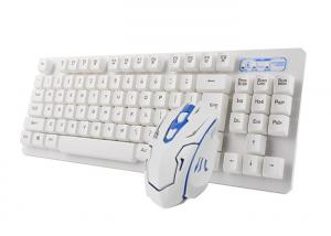 China 104 Key Ergonomic Wireless Keyboard And Mouse Combo With Nano USB Receiver on sale