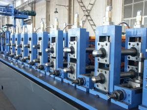 China Material Thickness 1.0-2.5mm, Width 63-238mm Straight-Seam Welded Pipe Cold Roll Forming Machine on sale