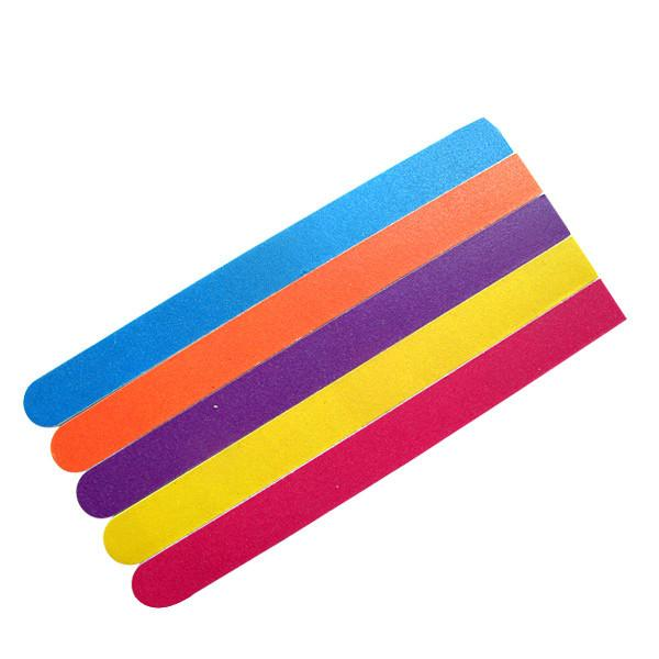12cm Yellow Emery Board Nail File EVA / Sandpaper With Beautiful ...