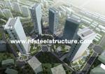 Inmersión dura y durable, caliente galvanizada, edificio de acero de varios pisos impermeable industrial