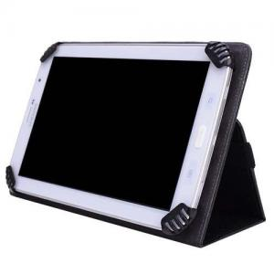 China Black Flip Leather Wallet Folio Smart Case Stand Cover For 7 8 Tablets on sale
